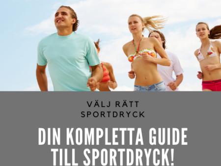 VÄLJ RÄTT SPORTDRYCK
